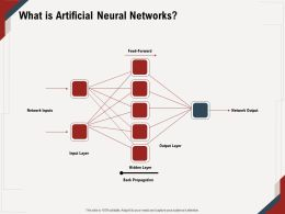 What Is Artificial Neural Networks Back Propagation Ppt Powerpoint Presentation Ideas Model