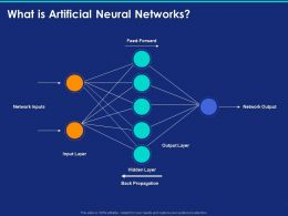 What Is Artificial Neural Networks Ppt Powerpoint Presentation Outfit