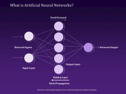 What Is Artificial Neural Networks Propagation Ppt Powerpoint Presentation Introduction