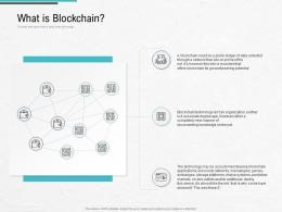What Is Blockchain Blockchain Architecture Design And Use Cases Ppt Infographics