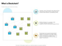 What Is Blockchain Groundbreaking Potential Ppt Powerpoint Backgrounds