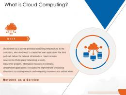 What Is Cloud Computing Service Cloud Computing Ppt Designs