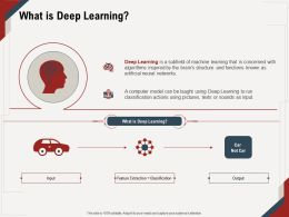 What Is Deep Learning Actions M669 Ppt Powerpoint Presentation Ideas Styles