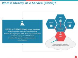 What Is Identity As A Service Idaas Commercial Stack Ppt Powerpoint Portfolio
