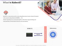What Is Kubectl Ppt Powerpoint Presentation Gallery Gridlines