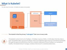 What Is Kubelet Resource Definition Ppt Powerpoint Presentation Examples