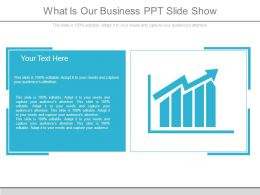 What Is Our Business Ppt Slide Show