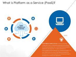 What Is Platform As A Service Paas Cloud Computing Ppt Portrait