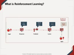 What Is Reinforcement Learning Input M672 Ppt Powerpoint Presentation Ideas Clipart