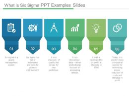 What Is Six Sigma Ppt Examples Slides