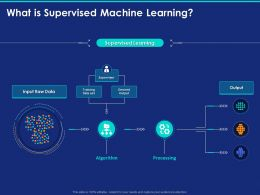 What Is Supervised Machine Learning Ppt Powerpoint Presentation Outline