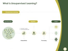 What Is Unsupervised Learning Algorithm Ppt Powerpoint Presentation Pictures Ideas
