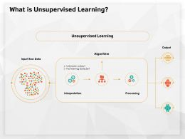 What Is Unsupervised Learning Training Data Ppt Powerpoint Presentation Styles Vector