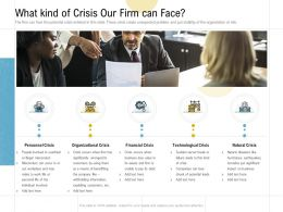 What Kind Of Crisis Our Firm Can Face Ppt Powerpoint Presentation Pictures Show