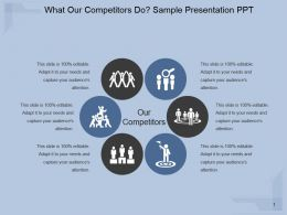 What Our Competitors Do Sample Presentation Ppt