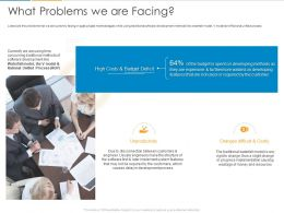 What Problems We Are Facing Ppt Powerpoint Presentation Inspiration Skills