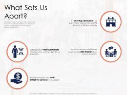What Sets Us Apart N433 Powerpoint Presentation Skills