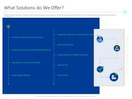 What Solutions Do We Offer Toxic M1548 Ppt Powerpoint Presentation Outline Slides