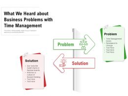What We Heard About Business Problems With Time Management