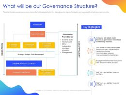 What Will Be Our Governance Structure Ppt Powerpoint Presentation Ideas