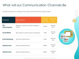 What Will Our Communication Channels Be General Ppt Powerpoint Presentation Icon Slideshow