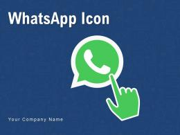 Whatsapp Icon Mobile Phone Conversation Outline Messages