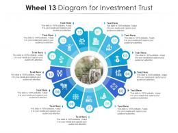 Wheel 13 Diagram For Investment Trust Infographic Template