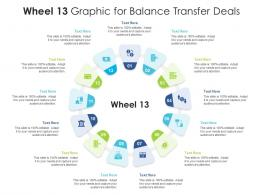 Wheel 13 Graphic For Balance Transfer Deals Infographic Template