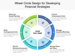 Wheel Circle Design For Developing Financial Strategies