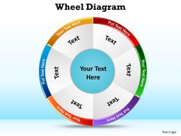 wheel diagram ppt slides presentation 26