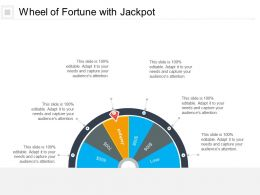 Wheel Of Fortune With Jackpot
