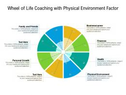 Wheel Of Life Coaching With Physical Environment Factor