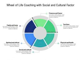Wheel Of Life Coaching With Social And Cultural Factor