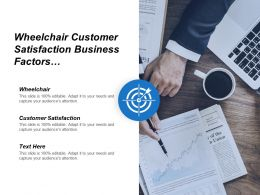 Wheelchair Customer Satisfaction Business Factors Project Management Marketing Plan Cpb