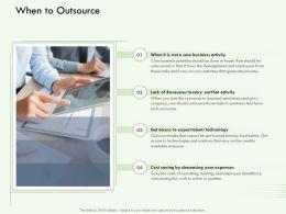 When To Outsource M3139 Ppt Powerpoint Presentation Portfolio Examples