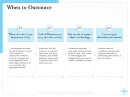 When To Outsource One Should M1533 Ppt Powerpoint Presentation Template