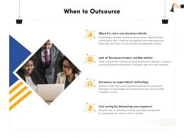 When To Outsource Talent M368 Ppt Powerpoint Presentation Show Design Ideas