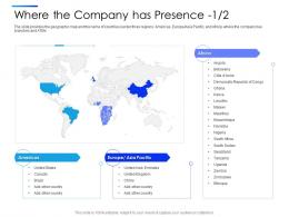 Where The Company Has Presence Equity Secondaries Pitch Deck Ppt Clipart
