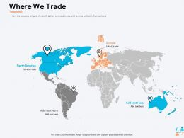 Where We Trade Europe Ppt Powerpoint Presentation Summary Microsoft