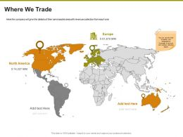 Where We Trade Ppt Powerpoint Presentation File Brochure