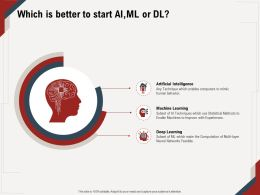 Which Is Better To Start AIML Or DL Computation M674 Ppt Powerpoint Presentation Infographics Ideas