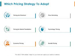Which Pricing Strategy To Adopt Economy Pricing Ppt Powerpoint Slides