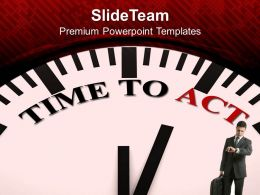 white_clock_with_words_time_to_act_powerpoint_templates_ppt_themes_and_graphics_0213_Slide01