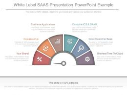 White Label Saas Presentation Powerpoint Example