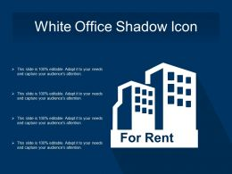 White Office Shadow Icon