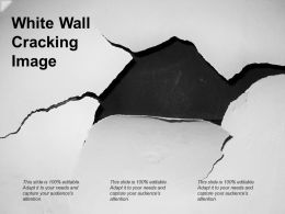 White Wall Cracking Image