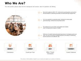 Who We Are Concepts Ppt Powerpoint Presentation File Graphics