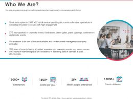 Who We Are Ppt Powerpoint Presentation Inspiration Example