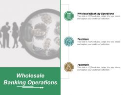 Wholesale Banking Operations Ppt Powerpoint Presentation Layouts Designs Download Cpb