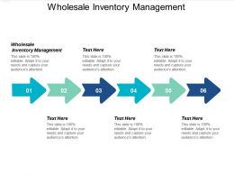 Wholesale Inventory Management Ppt Powerpoint Presentation Icon Graphics Example Cpb